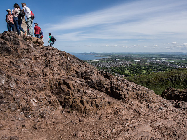 At the Top - Arthurs Seat May 2018