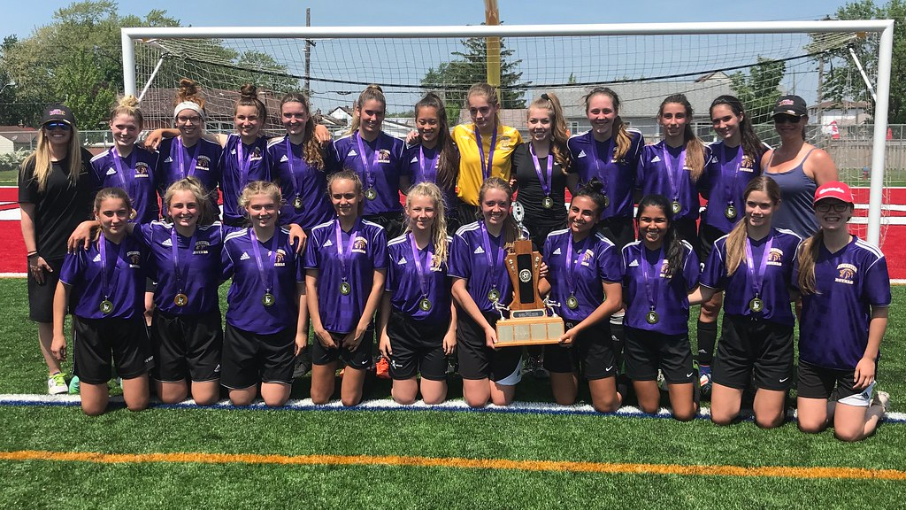 2017-18 Girls Division-I Soccer Champions: Ancaster Royals