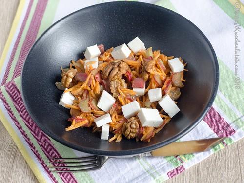 Roher Rhabarber-Karotten-Salat (2)