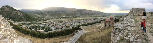 Berat Castle Panorama 02