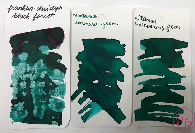 Franklin-Christoph Black Forest Ink Review @1901FC 5