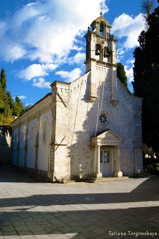 Вид на церковь Св. Спаса