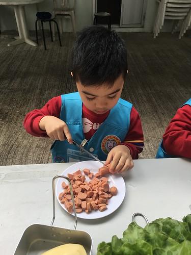 親子原野烹飪