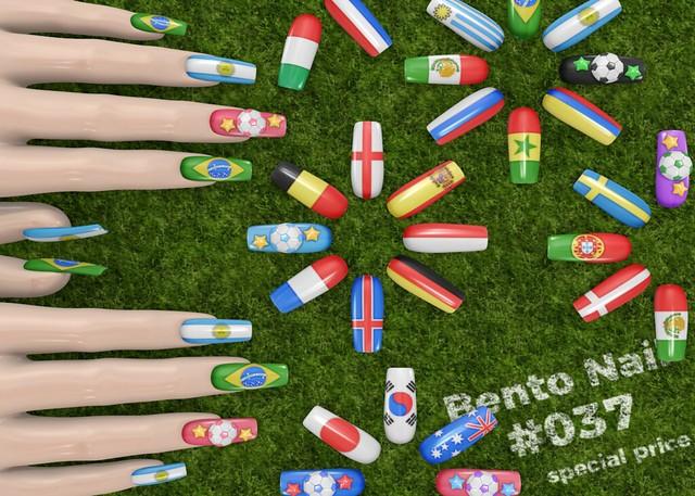 Bento Nail #037 ⚽ special pice