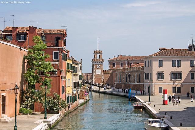 L'Arsenale dal ponte di Riva San Biagio: film ambientati a Venezia