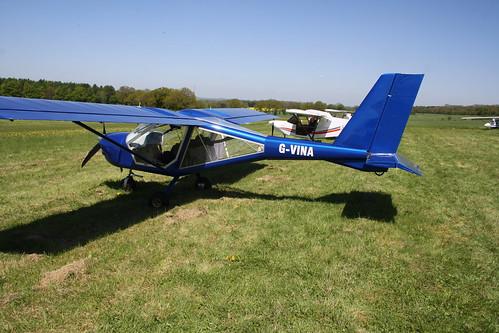 G-VINA Aeroprakt A.22L [LAA 317A-14977] Popham 050518