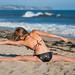 Beautiful Yoga Ballerina Ballet Goddess! Pretty Swimsuit Bikini Model! Malibu Ballerina Yogi Blending Ballet & Yoga on the Beach! Sharp Nikon D800 E & AF-S NIKKOR 70-200mm f/2.8G ED VR II Zoom from Nikon! 45SURF 45EPIC! by 45SURF Hero's Odyssey Mythology Landscapes & Godde