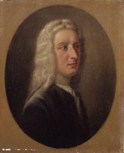 James Edward Oglethorpe, circa 1735-1736 by Alfred Edmund Dyer; William Verelst, painting, circa 1927