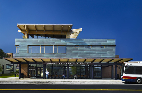 Downtown Transit Station, Charlottesville, Virginia