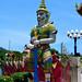 Statue of a guard, Wat Plai Laem, Ko Samui, Thailand by R-Gasman
