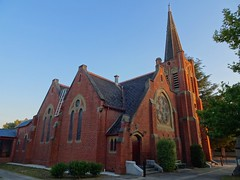 Albury. St David's Presbyterian Church. Built in 1905. Now a Uniting Church.