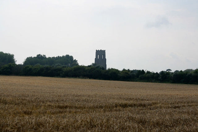 Ruines of St Margarets Church, Hopton-on-Sea