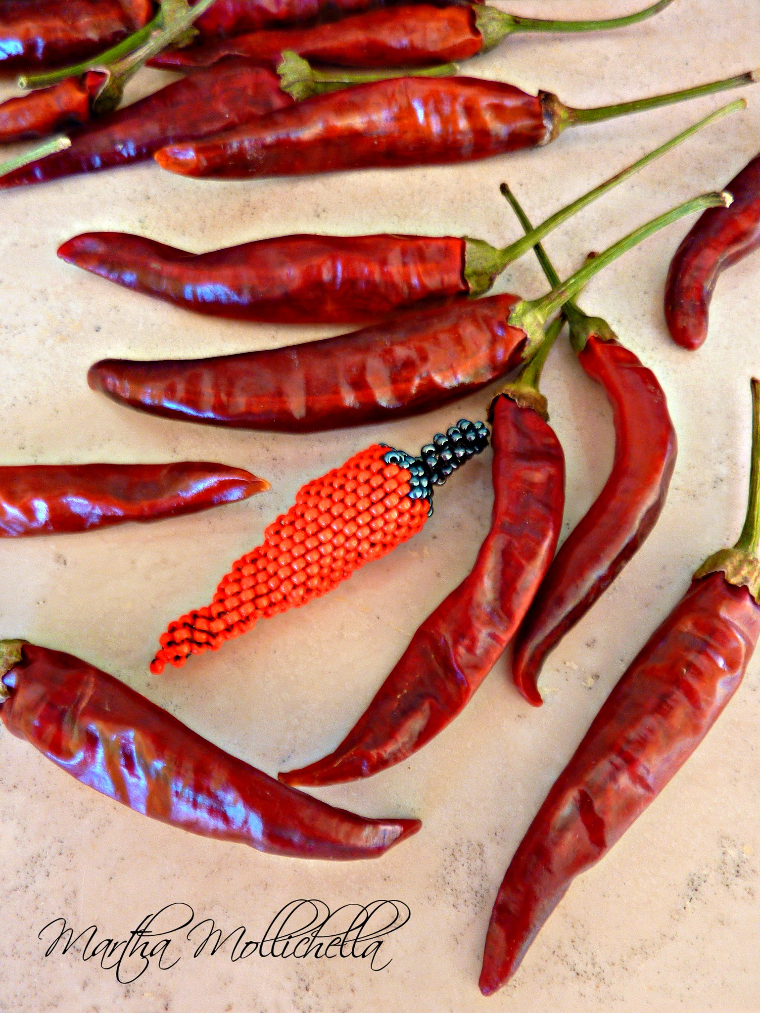 Chili pepper jewels