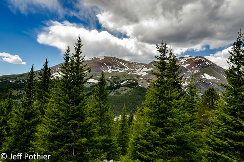 nikon d7000 colorado forest trees mountains beauty beautiful sky snow