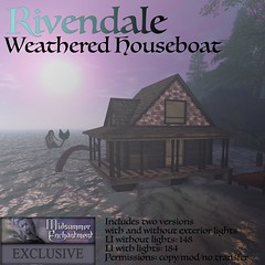 Weathered Houseboat