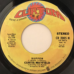 CURTIS MAYFIELD:SWEET EXORCIST(LABEL SIDE-B)