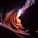 12. Colores y contraluces en el interior del Antelope Canyon de Arizona
