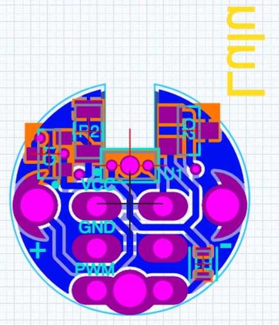 Lulu pcb prototype 1