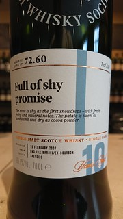 SMWS 72.60 - Full of shy promise