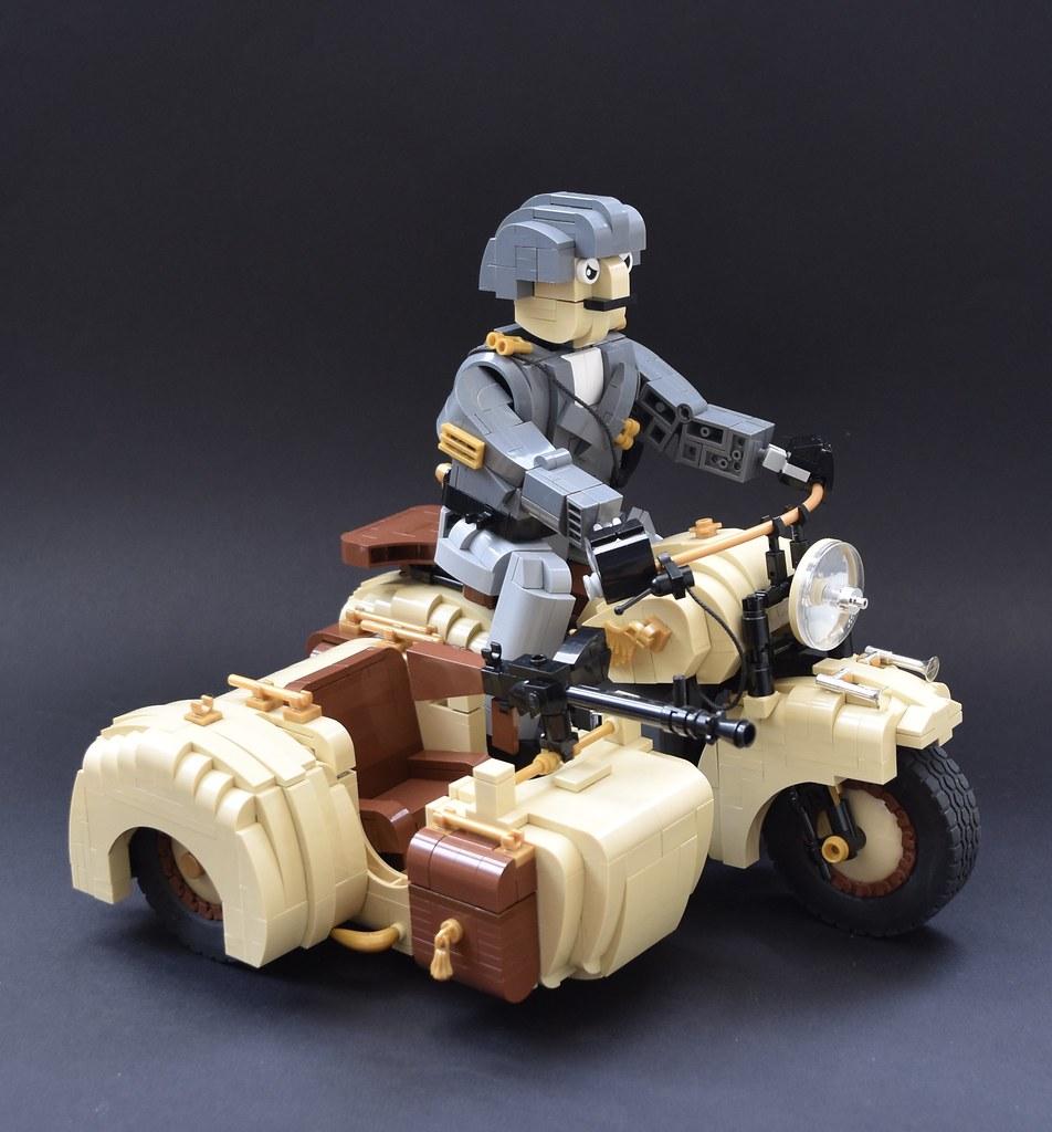 lego biker moc