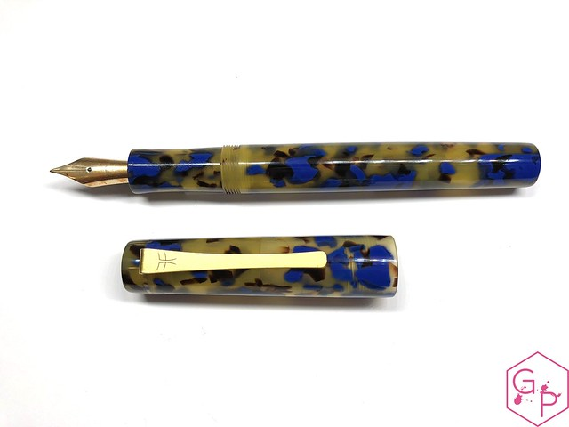 Faggionato Pétrarque King Size Celluloid Fountain Pen Review @couronneducomte 8