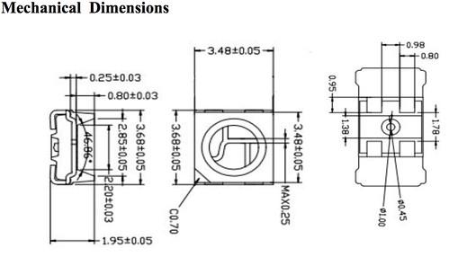 WS2812B MINI datasheet