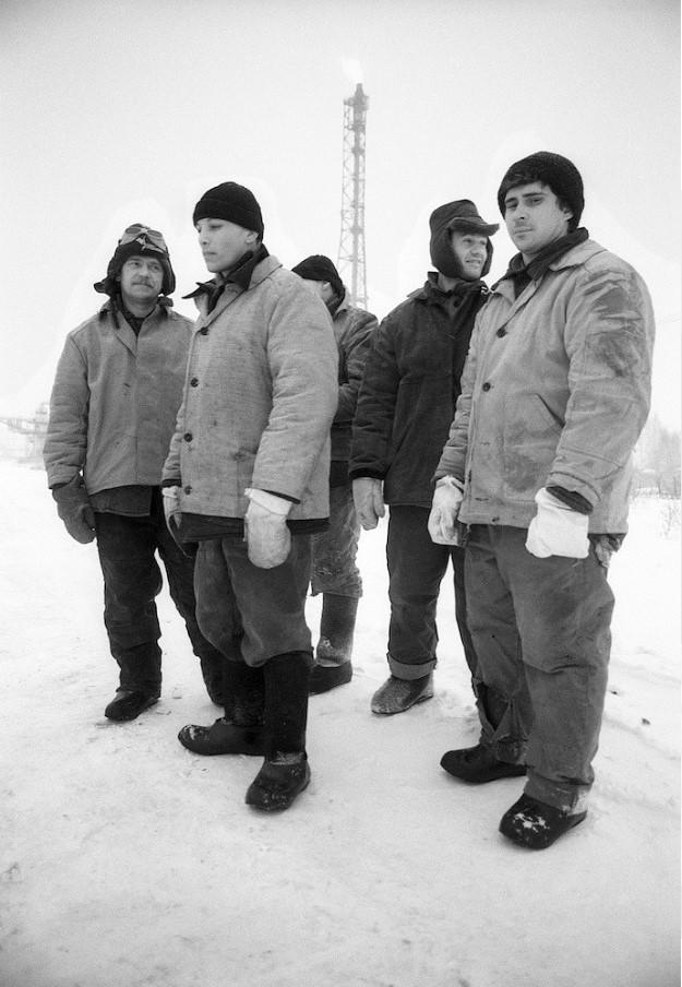 Новосибирск. Пять рабочих
