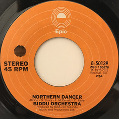 BIDDU ORCHESTRA:SUMMER OF '42(LABEL SIDE-B)