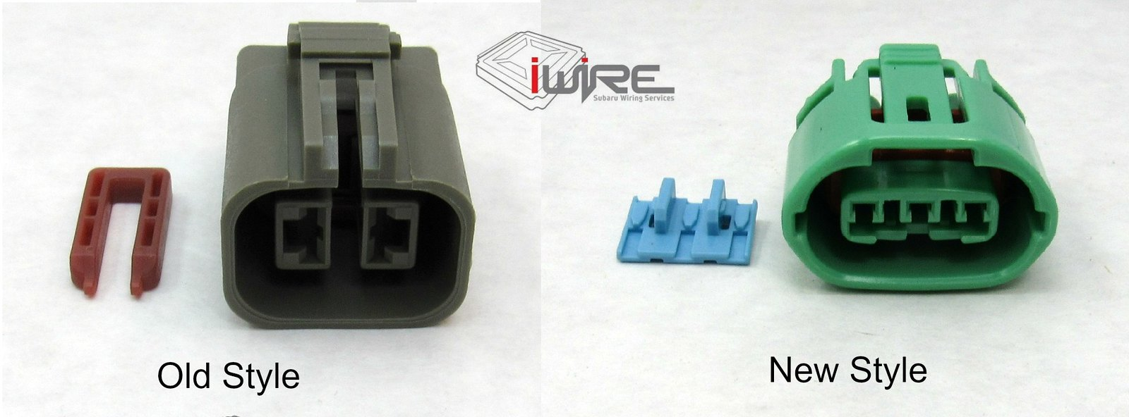 we now have both types of subaru alternator plugs - the 2 pin gray square  plug for 1998 and earlier subaru and the 3 pin green oval plug for 1999 and  later