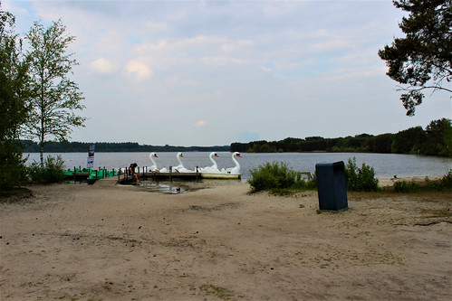 lake and pedal boats
