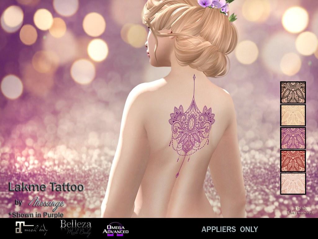 MESANGE – Lakme Tattoo