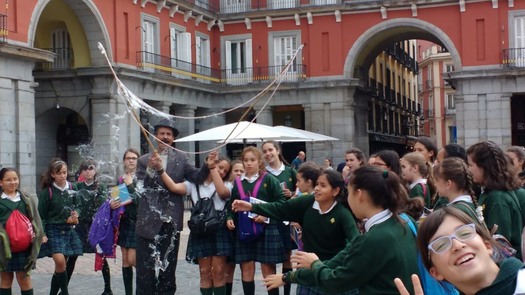 Visita al Madrid histórico de 6º Primaria