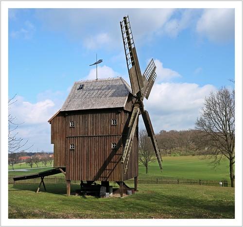 Die versetzte Windmühle
