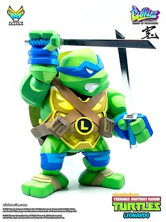 思考縝密的領導角色!! BigBoyToys Bulkyz Collection 系列《忍者龜》李奧納多 Leonardo 豪華版