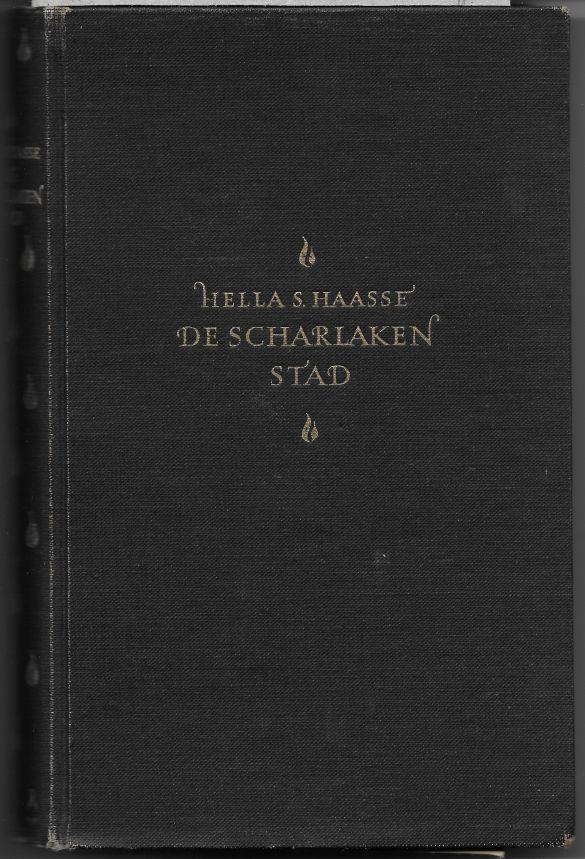 HellaSHaasseDeScharlakenStad1952Linnenomslag