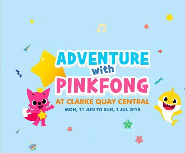 Pink Fong Clark Quay