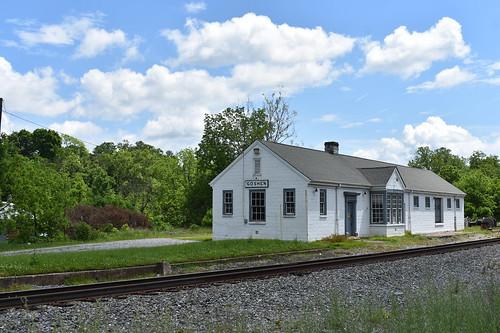 goshen trains railroad depot csx station