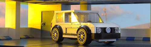 Lego VW Golf MkII