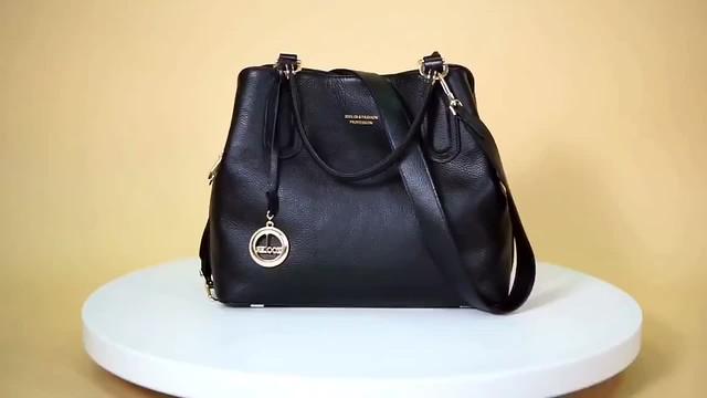 Bucket Genuine Leather Luxury Handbag