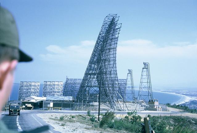 DA NANG 1969 - Radar on Monkey Mountain - Photo by Roger Papka