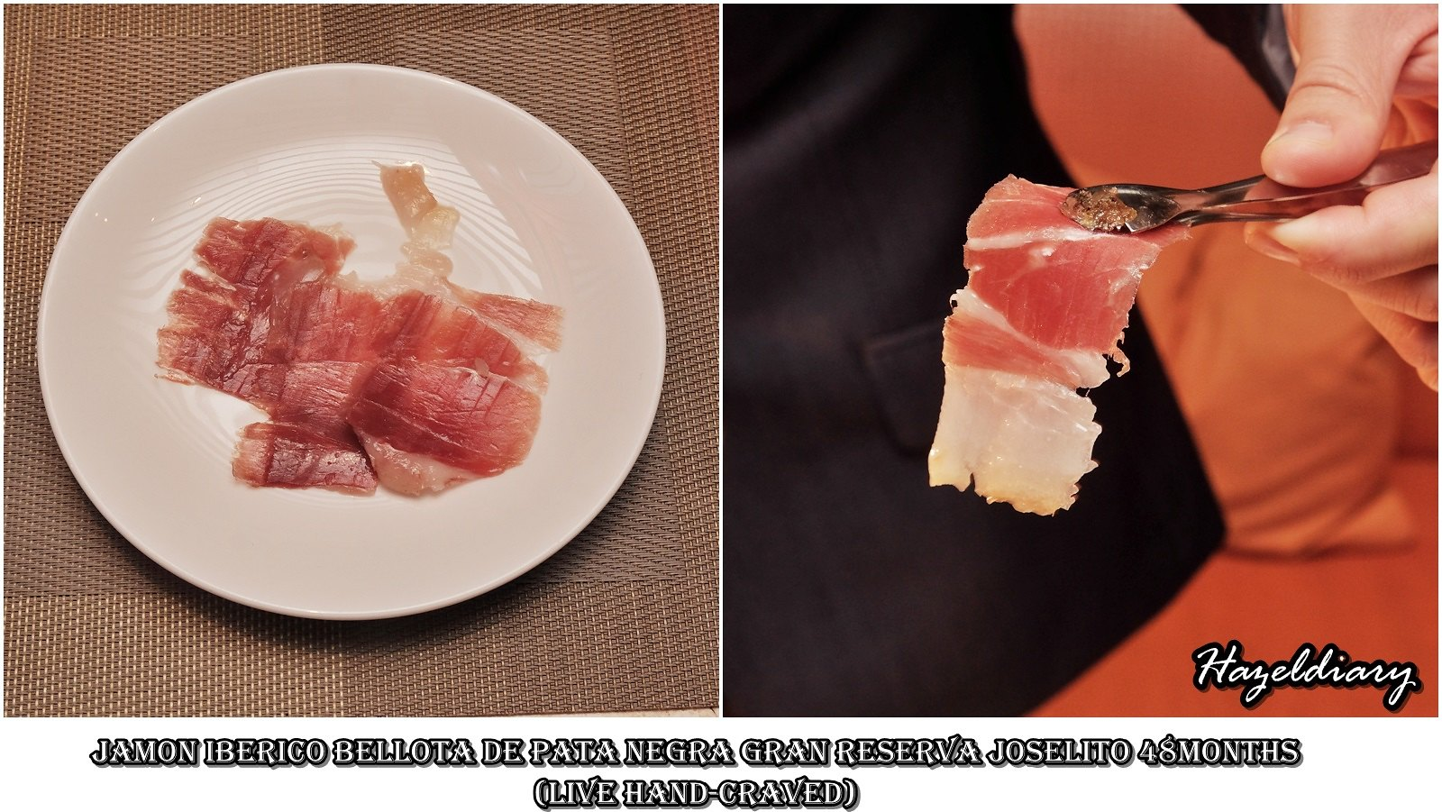 Capella The Knolls-Spanish Gourmet-Jamon Iberico-Hazeldiary