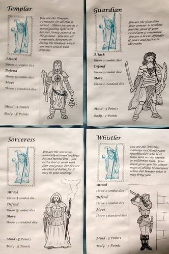 Extra HeroQuest Characters