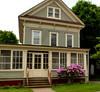 Victorian homes - Oneonta, NY