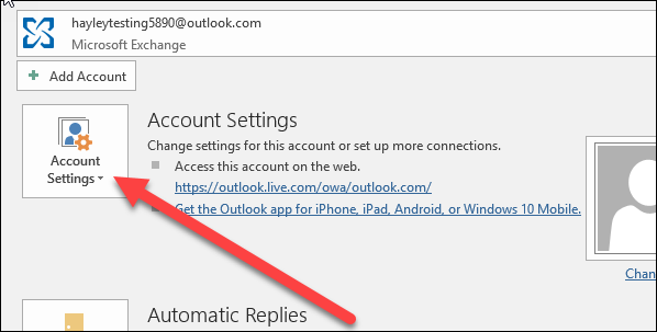 set outlook gmail
