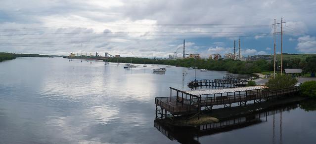 Williams Park Boat Ramp from Doyle Carlton Bridge US-41