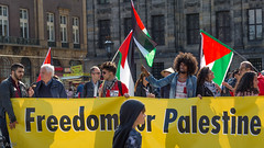 Freedom for Palestine demonstration