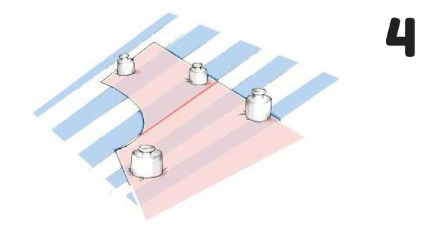 Cutting Stripes Step 4