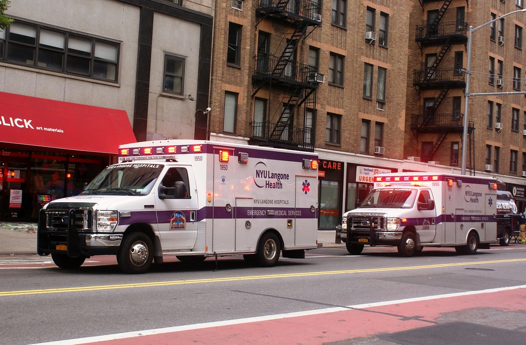 NYU Langone Ambulances | 3rd Alarm Fire, 170 W 23rd St  | Flickr