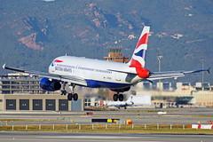 G-EUUH A320-232 British Barcelona-El Prat 17-02-16