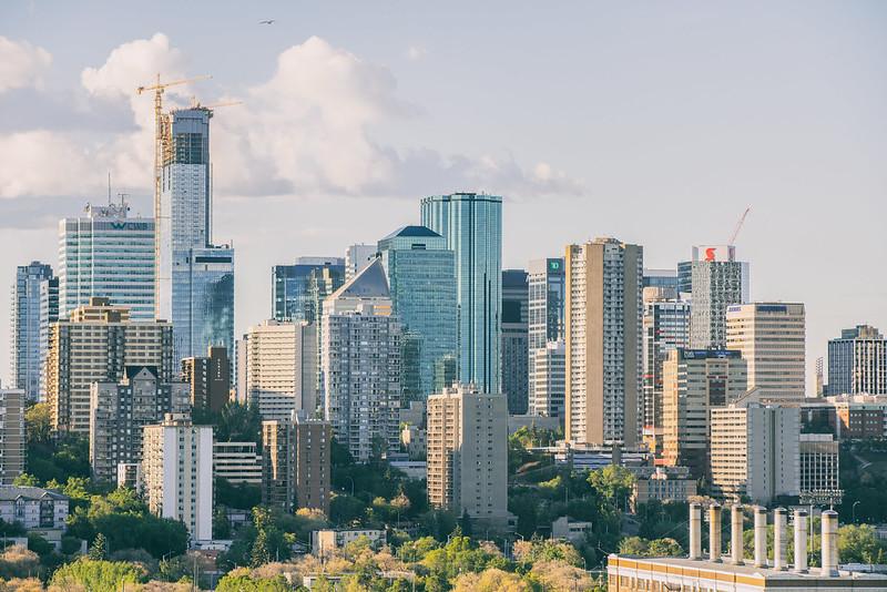 Edmonton Summer Cityscape